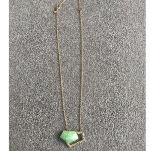 Alexis Bittar Turquoise Miss Havisham Necklace